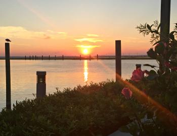 Sunset on Chincoteague Bay
